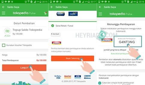 Top Up Saldo Tokopedia di Indomaret dan Alfamart Cara Mengisi Saldo Tokopedia di Indomaret dan Alfamart