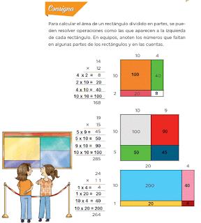 Respuestas Apoyo Primaria Desafíos Matemáticos 4to. Grado Bloque III Lección 56 La multiplicación