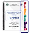 Ready to Print - Cut - Paste RPMS Tabs with Label to Showcase Portfolio Elements