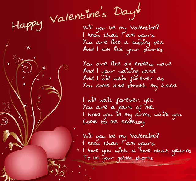 Happy Valentines Day Poems for Wife