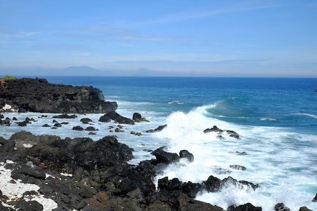 Một góc biển ở Đảo Lý Sơn (Nguồn ảnh: Gấu Bố)