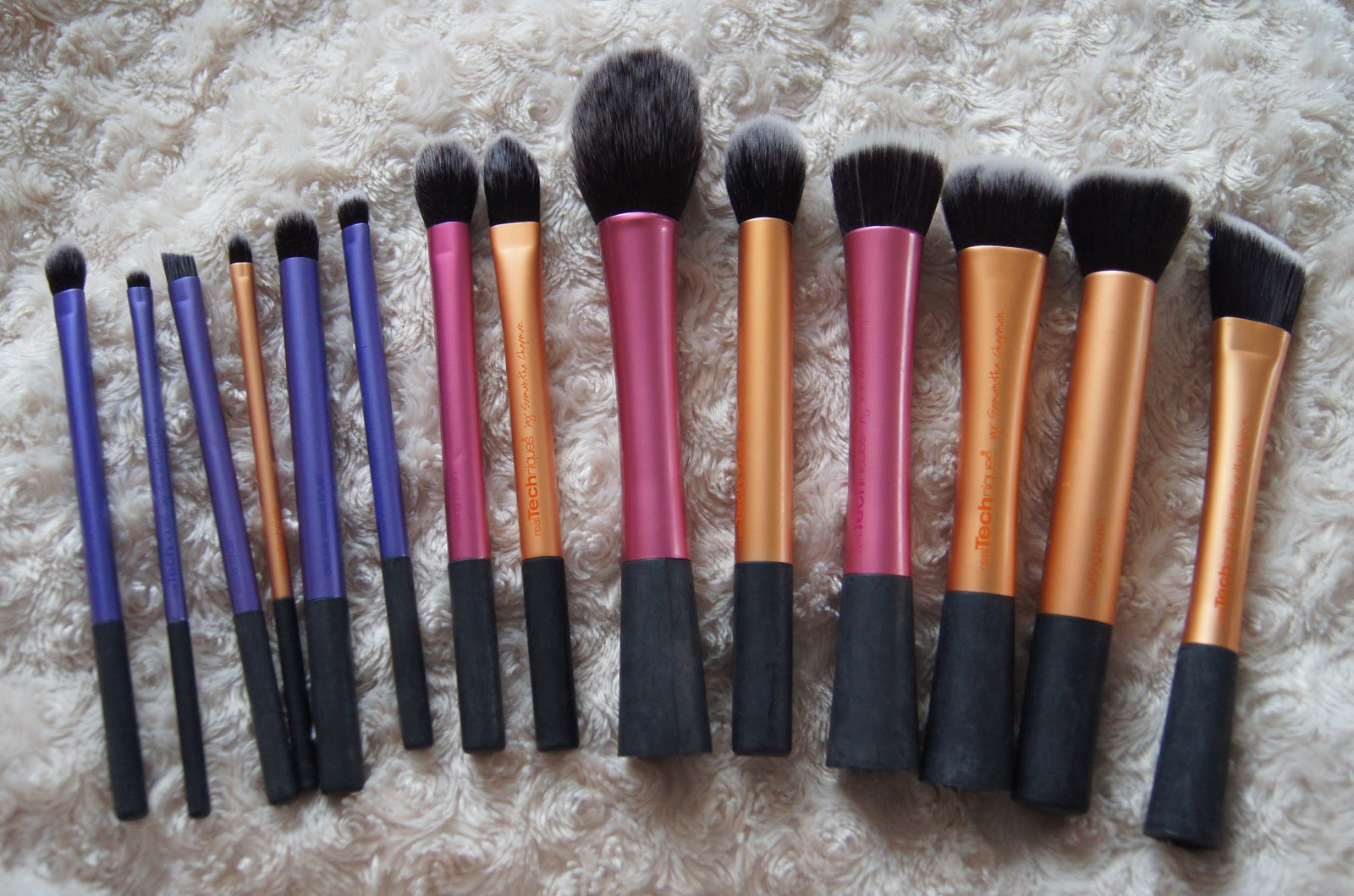 real techniques makeup brushes collection review