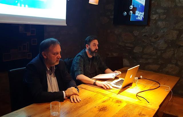 """Η """"Δυνατή Πόλη Ξανά"""" και ο Τάσος Χειβιδόπουλος παρουσίασε την επίσημη ιστοσελίδα της παράταξης"""
