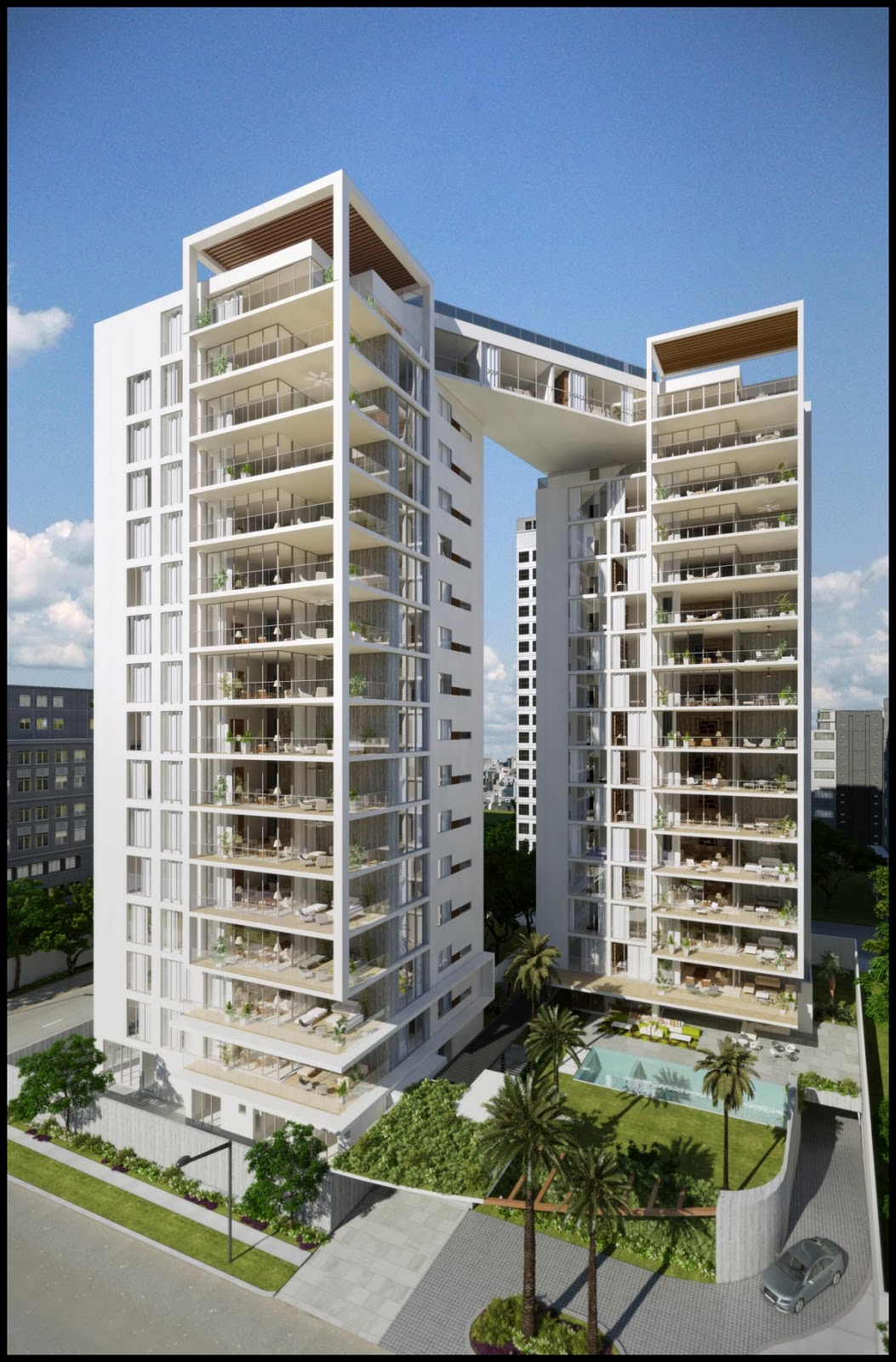 Kuadra residences dos torres unidas - Gva arquitectos ...