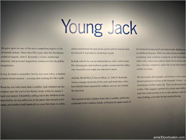Exhibición Young Jack