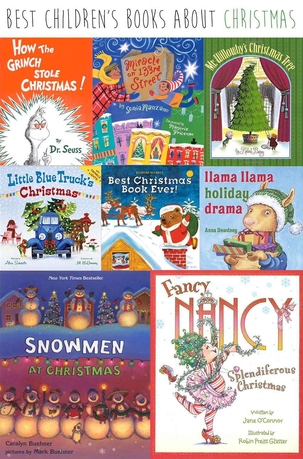 best childrens books about christmas - Best Christmas Books