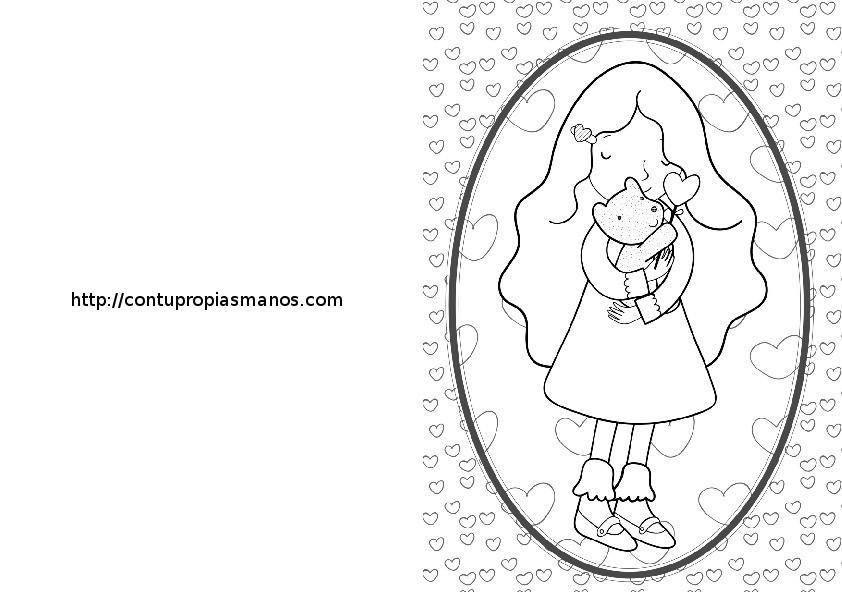 Dibujos Para Colorear Del Dia De Las Madres: Fichas De Primaria: Fichas Día De La Madre