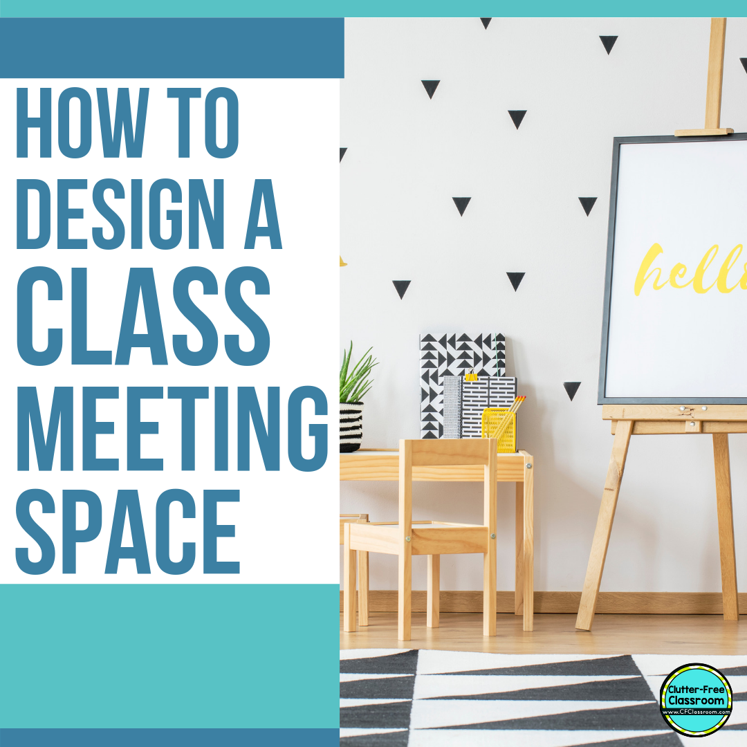 How to Create an Ideal Class Meeting Area for Read Alouds | Clutter