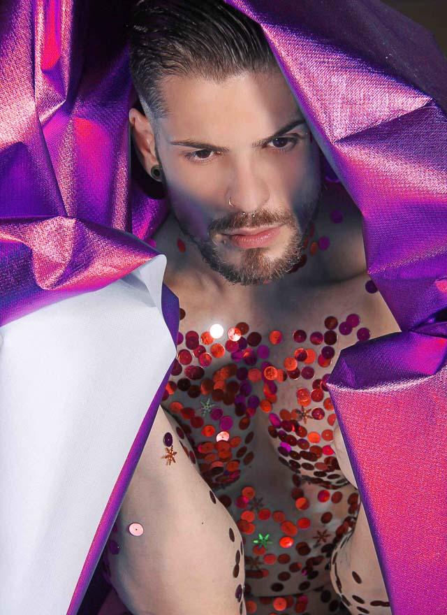 Jorge Beirigo divulga ensaio de Carnaval inspirado em foto de Sabrina Sato. Foto: Jorge Beirigo