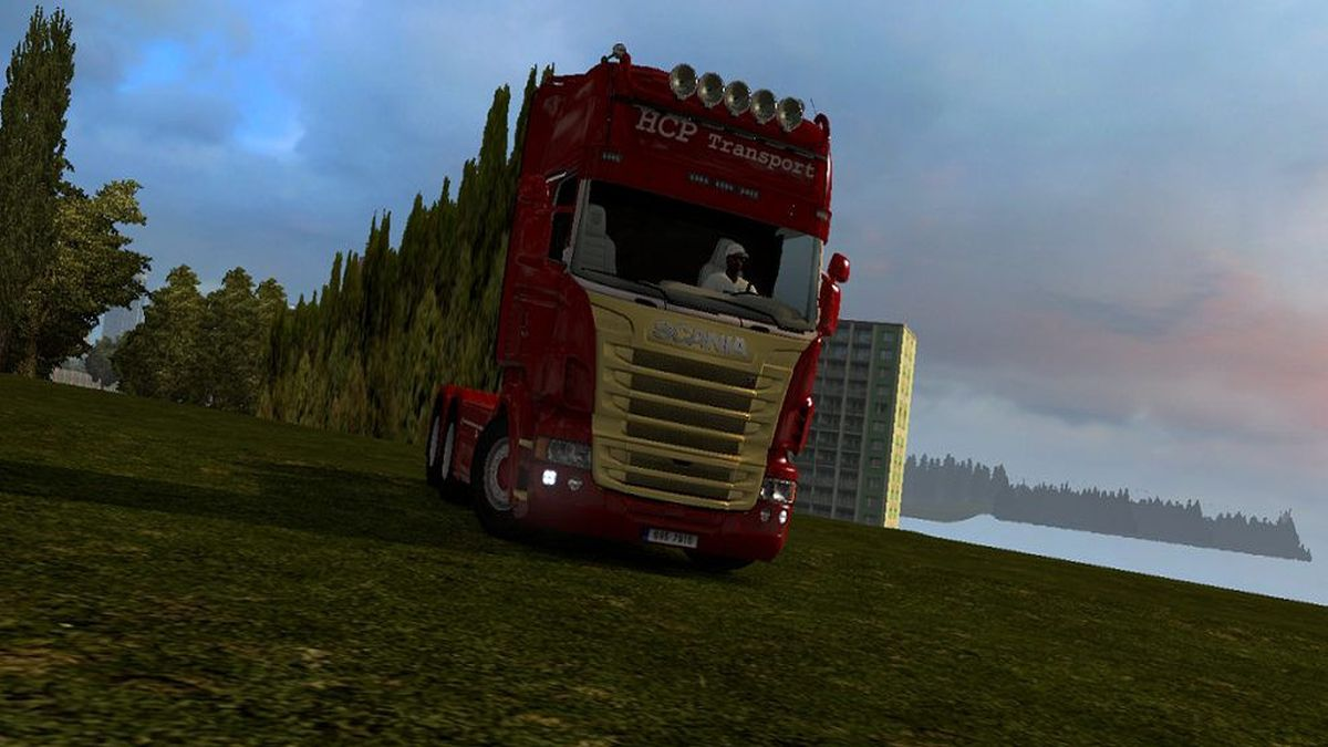 Scania RJL HCP Transport Skin