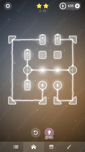 Laser Overload [Beginner] Level 2-12 Solution, Walkthrough, Cheats