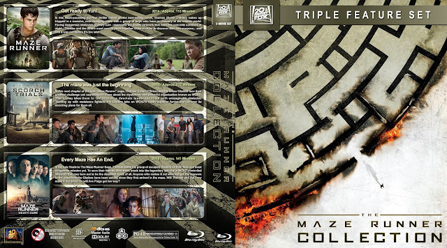 The Maze Runner Collection Bluray Cover