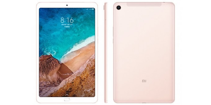 Xiaomi Mi Pad 4 Plus officially announced