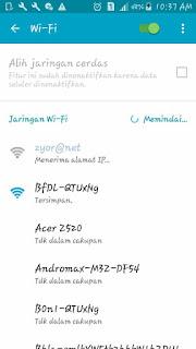 Cara Memperbaiki Wifi Android Error
