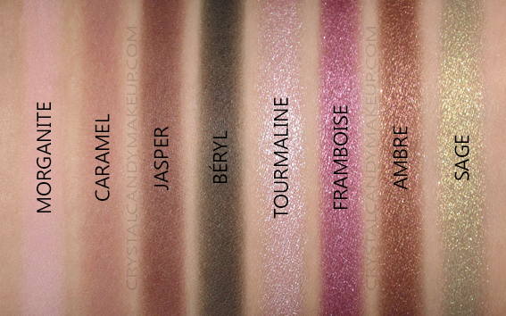 Viseart Petit PRO 3 Eye Shadow Palette Swatches