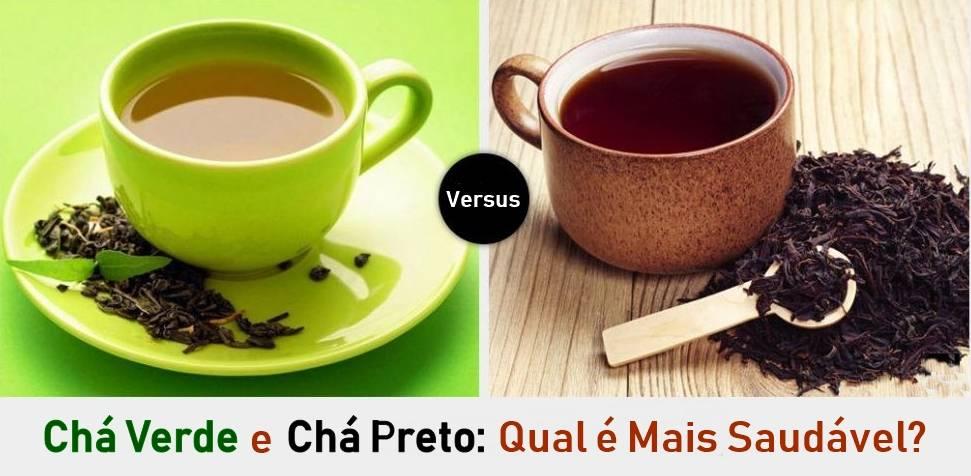 Chá Verde e Chá Preto: Qual é Mais Saudável?