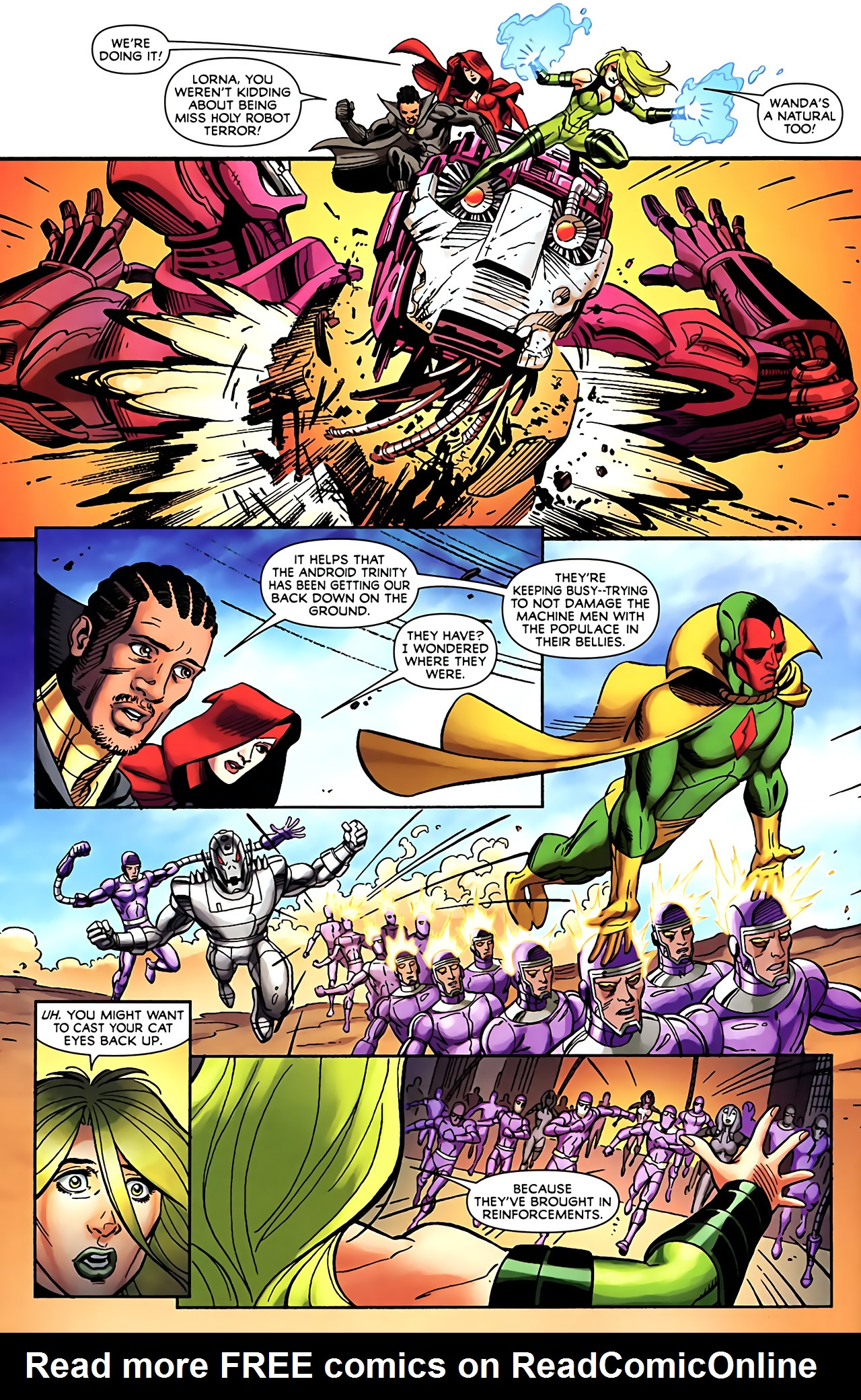 Read online Exiles (2009) comic -  Issue #5 - 20