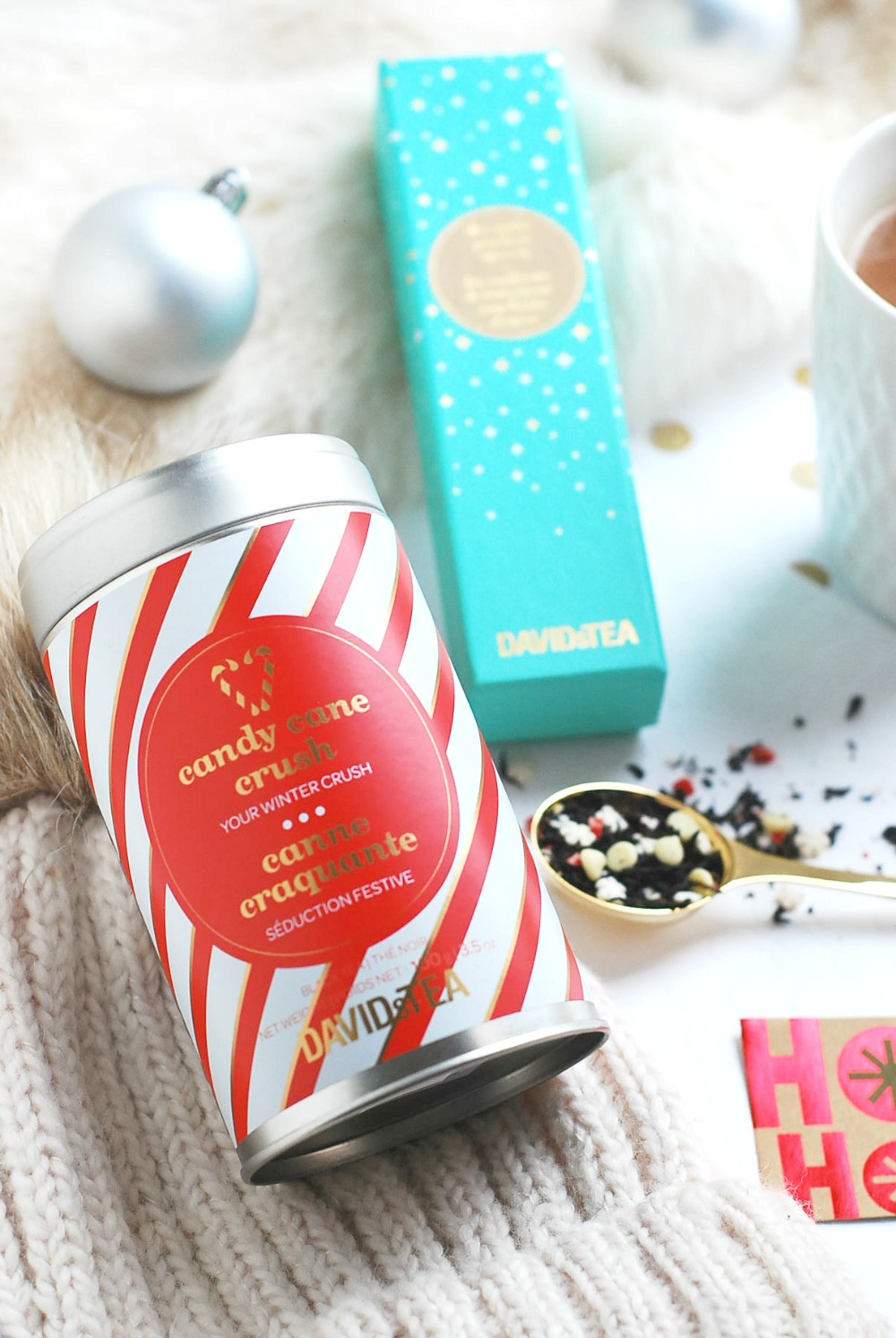 David's Tea Christmas 2016 Candy Cane Crush review