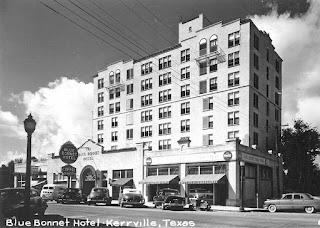 Blue Bonnet Hotel Kerrville 1950s