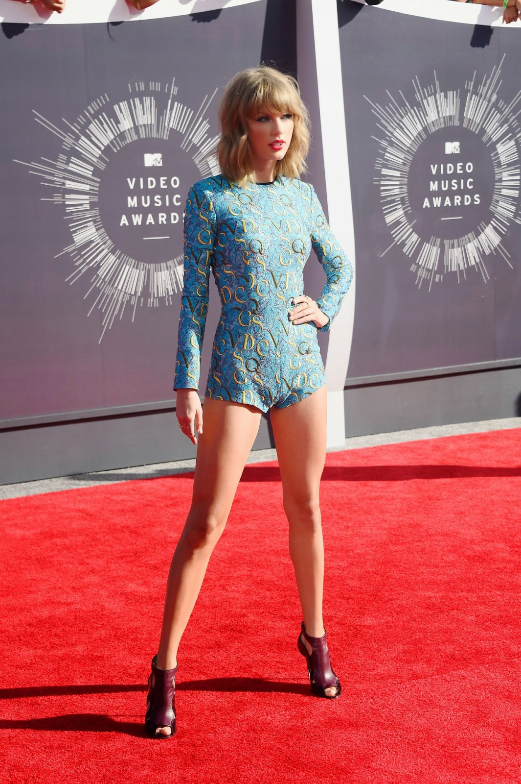 Taylor Swift 2014 Mtv Video Music Awards In Inglewood Vma