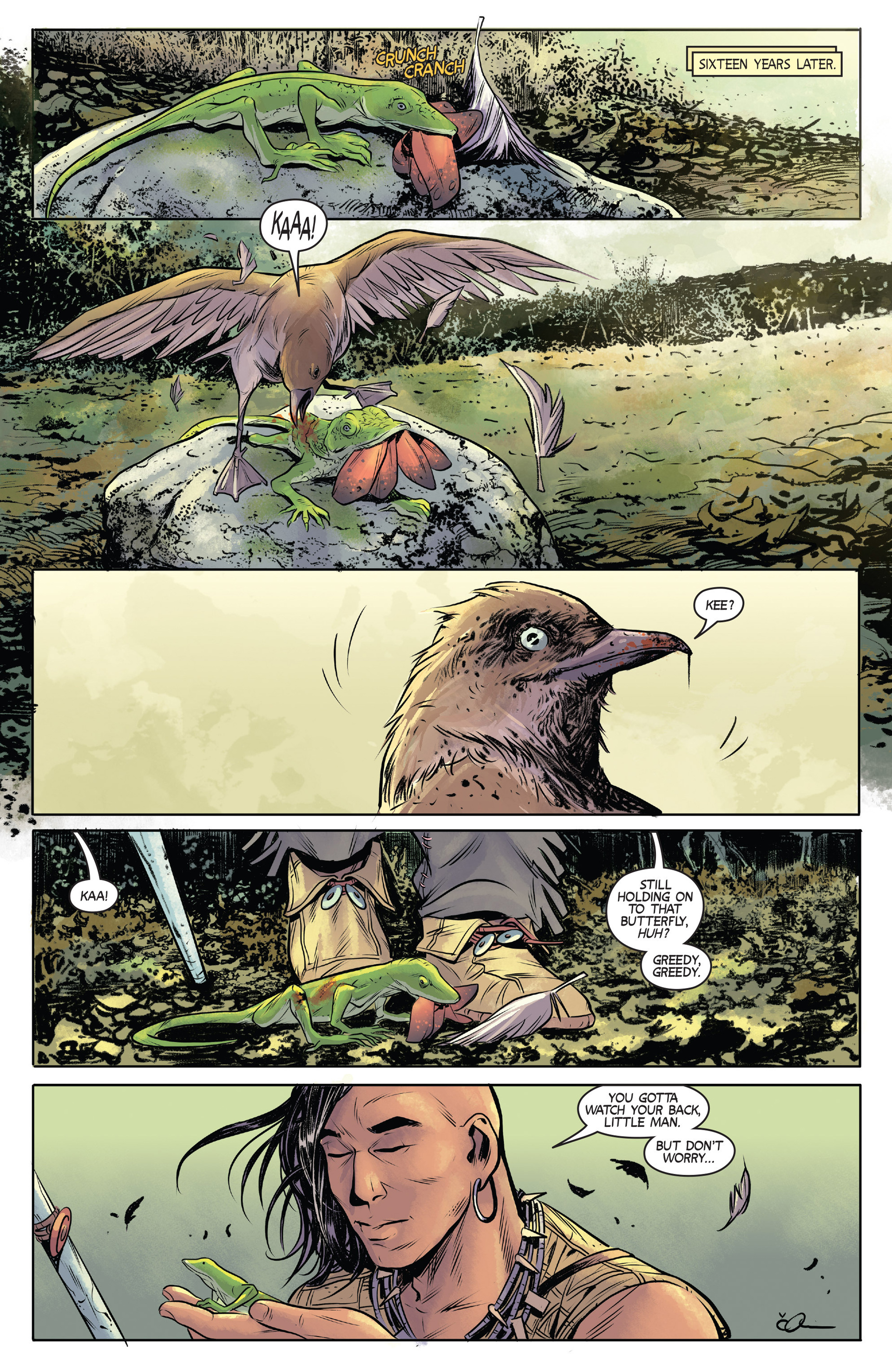 Read online Turok: Dinosaur Hunter (2014) comic -  Issue #1 - 4