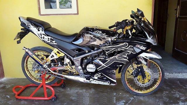 Gambar Modifikasi Kawasaki Ninja 150 RR Terbaru