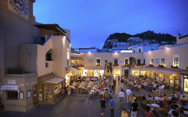 Centro turístico de Capri