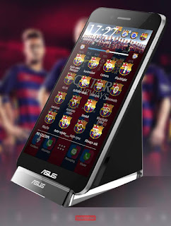 Download Tema Barcelona for Asus Zenfone