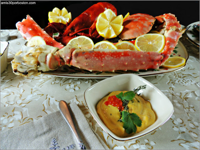 Marisco de la Cena de Noche Buena y Navidad