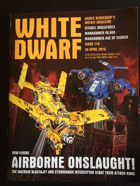 Wazbom Blastajet y Stormhawk interceptor
