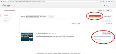 cara daftar google webmaster