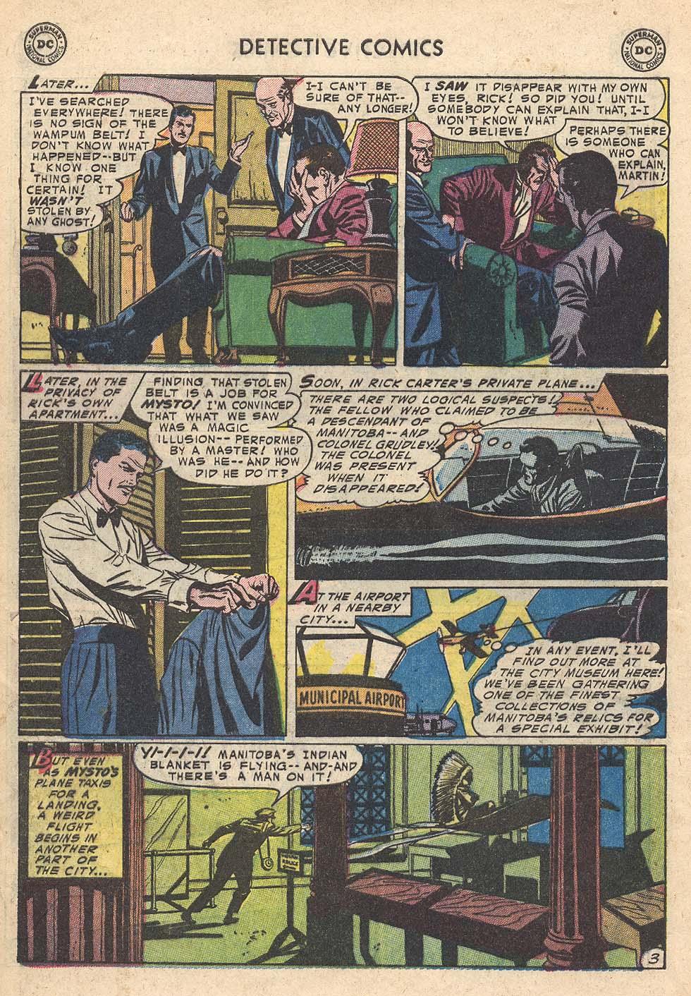 Read online Detective Comics (1937) comic -  Issue #210 - 36