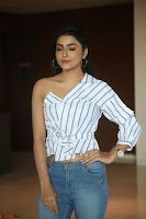 Avantika Mishra in One Shoulder Crop Top and Denim Jeggings ~  Exclusive 003.JPG