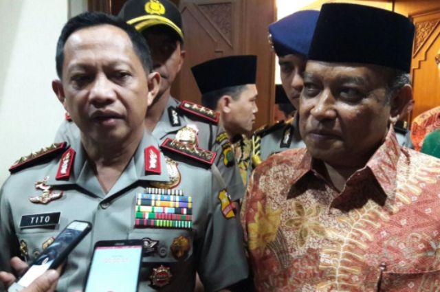 Kapolri Sebut Agenda Khilafah Tunggangi Demo 4 November