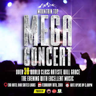 Mountain Top Mega Concert holds in Lagos
