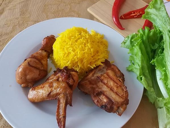 Terpikat Flaming Grilled Chicken dan Nasi Kuning Arab di Chicking Restoran