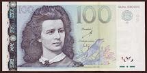 Estonia 100 Krooni Banknote 2007 World Banknotes & Coins