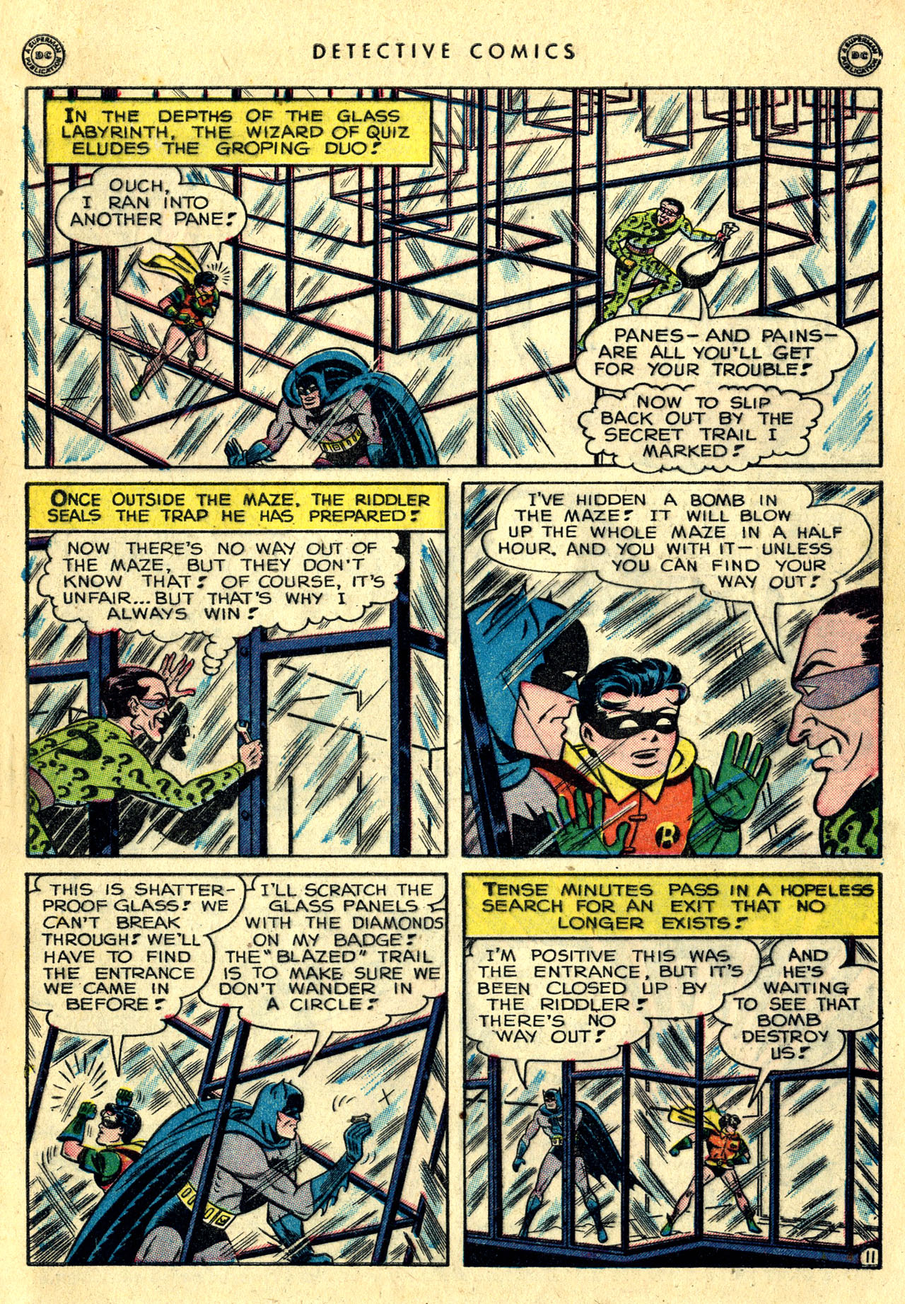 Read online Detective Comics (1937) comic -  Issue #140 - 13