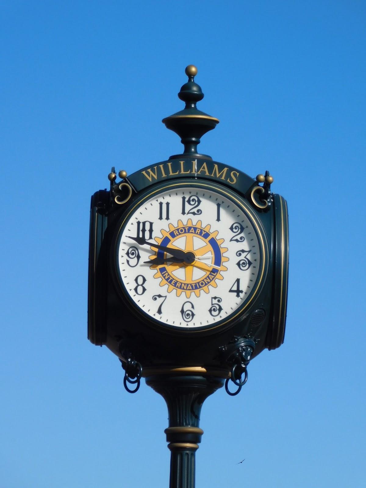 Williams, AZ clock
