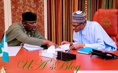 Okorocha Reveals What He Discussed With Buhari In Aso Rock