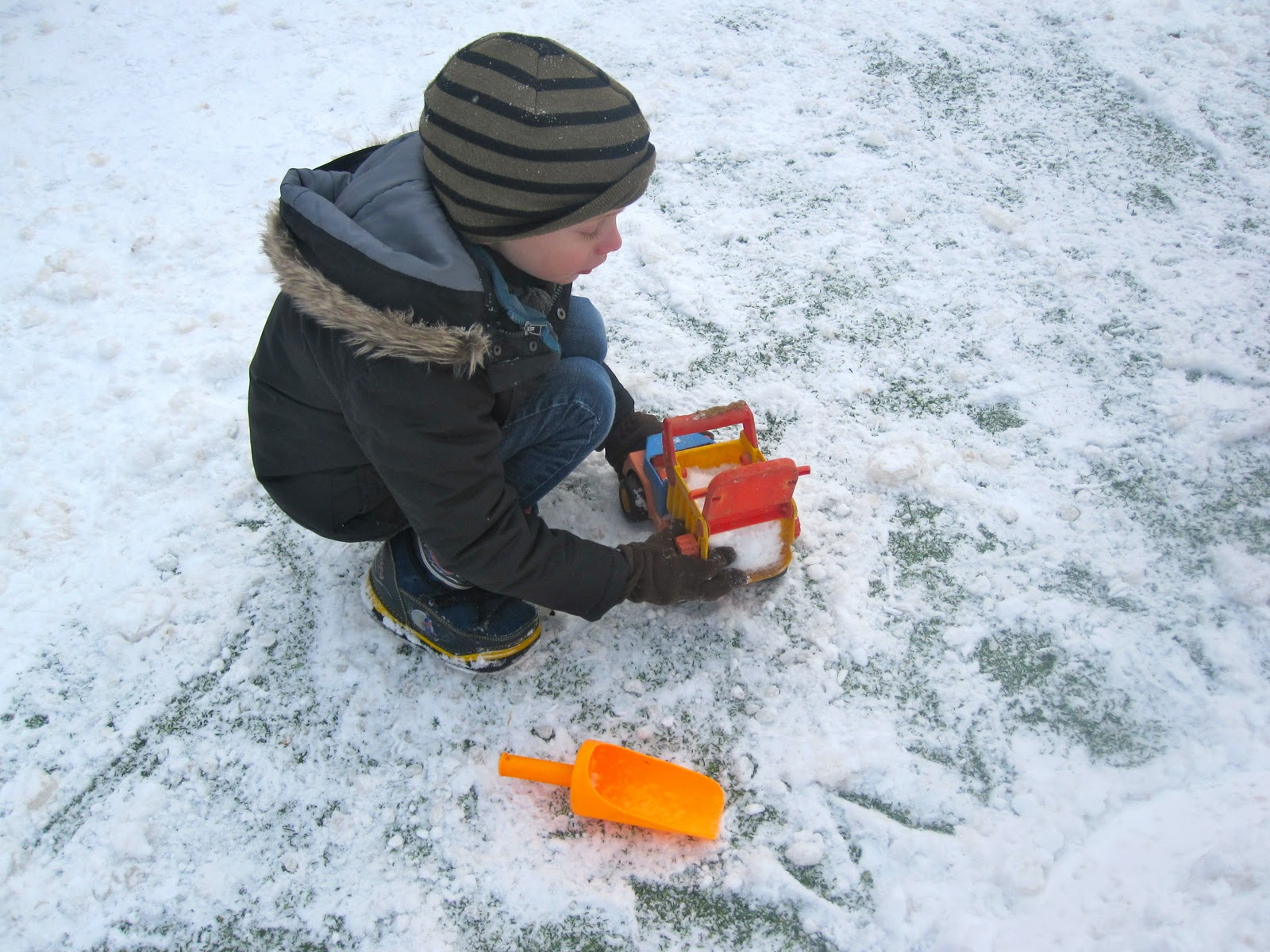 Tech Transformation Pre K Play In The Snow For Real