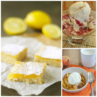 The BEST Slow Cooker Summer Desserts with Fruit featured on SlowCookerFromScratch.com