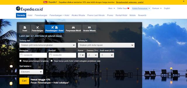 Hotel, Penerbangan Murah, Paket Liburan | Expedia.co.id