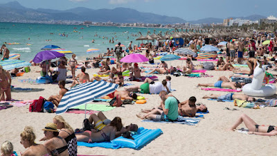 Authorities in Palma - a beautiful holiday resort and the capital of Spanish Island Mallorca are mounting war against public nudity, sex acts, drinking and anti-social behaviors at the resort.