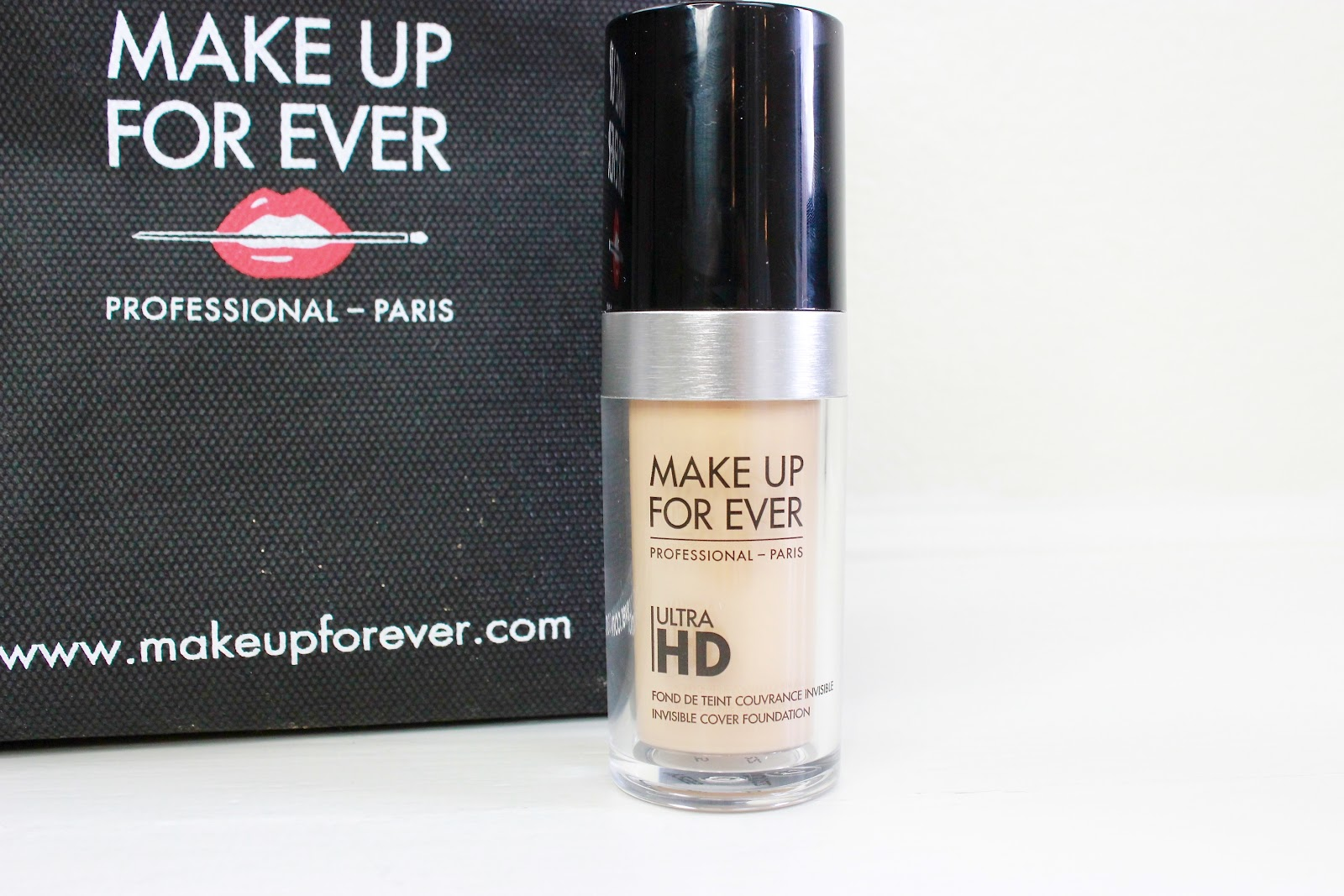 Make Up For Ever Ultra HD Foundation - Review and Swatches