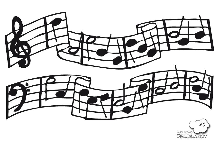 Note musicali disegno oa58 regardsdefemmes - Note musicali da colorare pagina da colorare ...