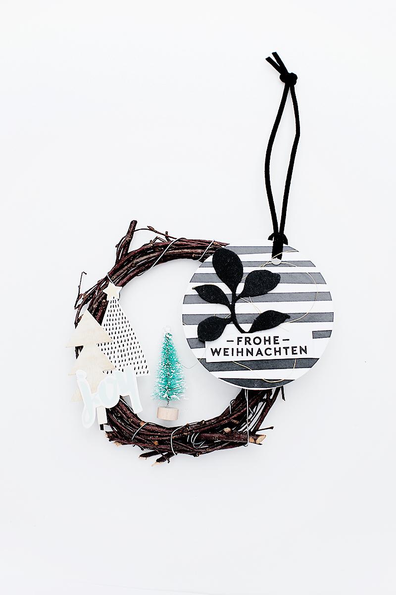 Geschenkanhänger \'Frohe Weihnachten\' | Gift tag inspiration | Moment ...