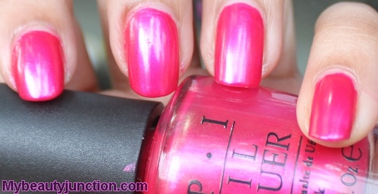 O.P.I. It's All Greek To Me nail polish swatch
