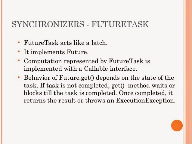 Future and FutureTask Example in Java Concurrency