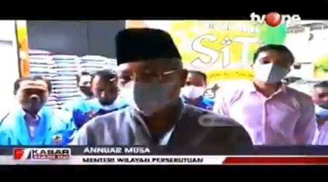 Menteri Malaysia Bantu 5 Ton Beras Dari Uang Pribadinya Untuk Wni Terdampak Covid 19 Portal Islam